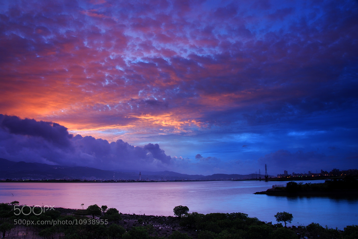Photograph Red clouds at dawn by Pan. 101 on 500px