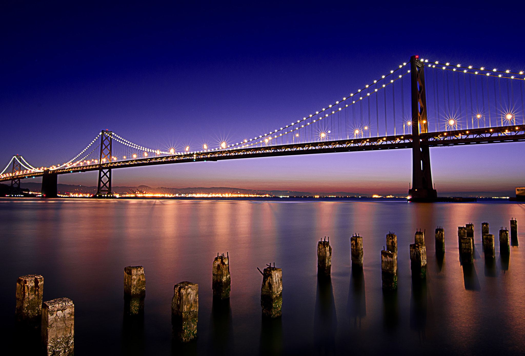 Photograph Bay Bridge at Breakfast by Brian Springs on 500px