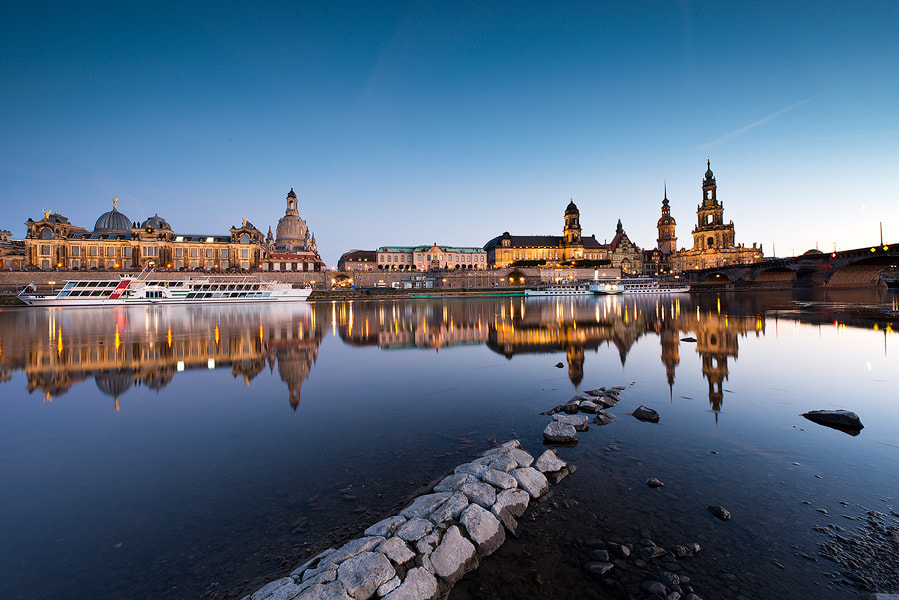 Photograph Dresden Upside Down by Arnold Moolenaar on 500px