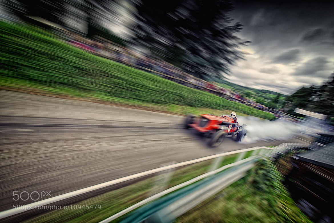 Photograph Shelsley Walsh Napier Bentley by Nigel Harniman on 500px