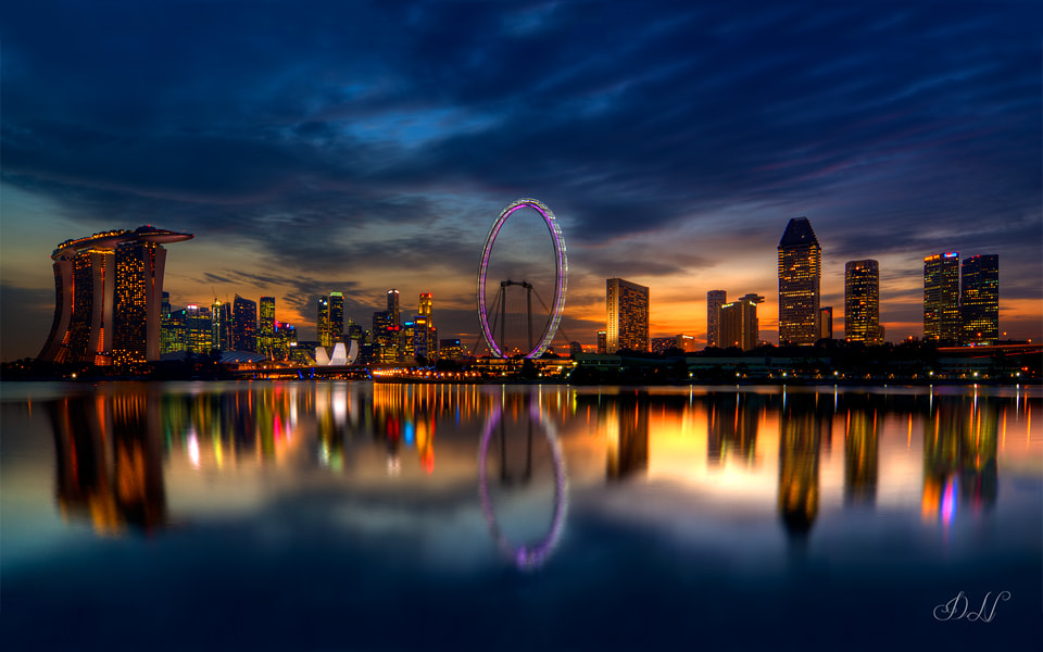 Photograph Dusk by Darren Ng on 500px
