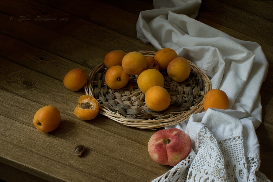 Photograph Аpricots and peaches by Elena Kolesneva on 500px