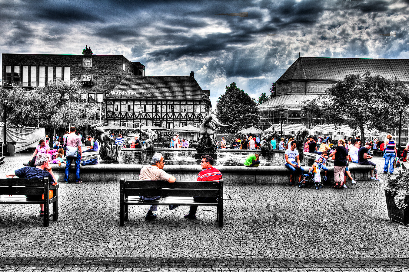 Photograph Summer in the city by Christer Häggqvist on 500px