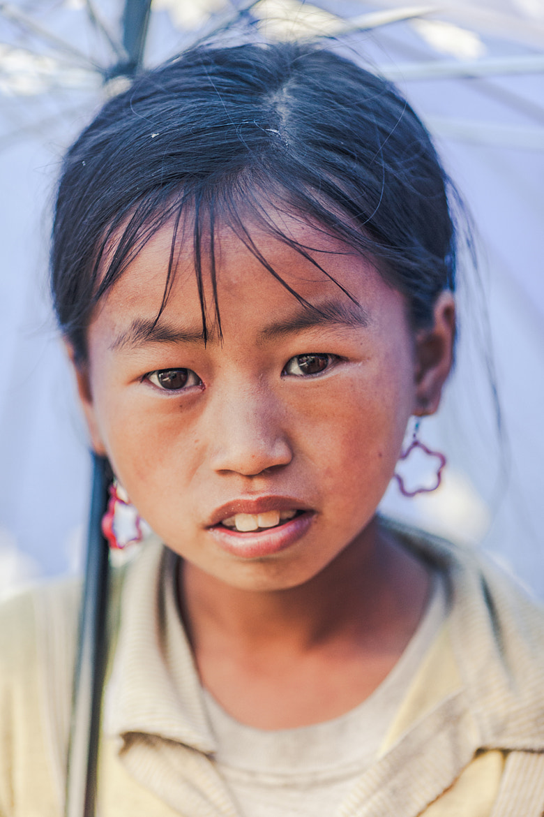 Photograph Young H'mong Portrait in Sapa by Debbie Martin on 500px