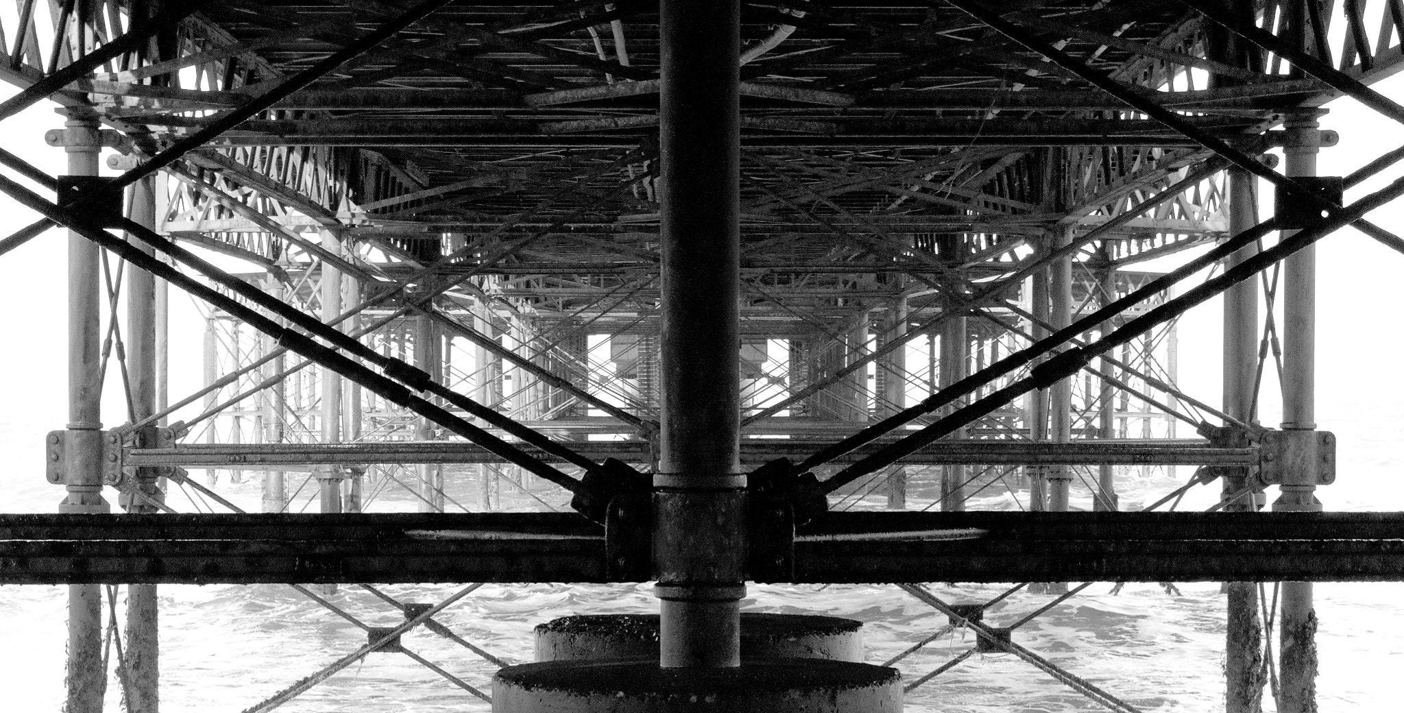 Photograph Beneath the pier by Michael Wilby on 500px