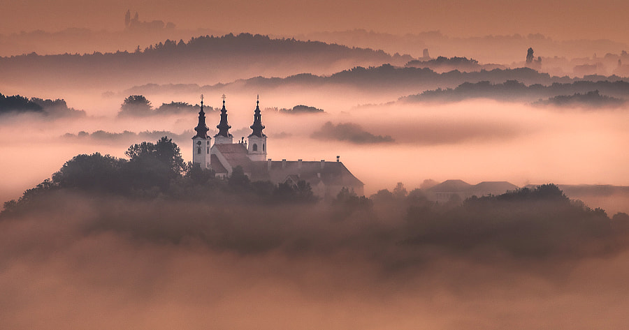 Somwhere in fog by Peter Zajfrid on 500px.com