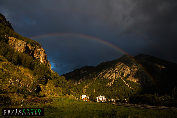 Photograph Double Rainbow  ! by David Greyo on 500px