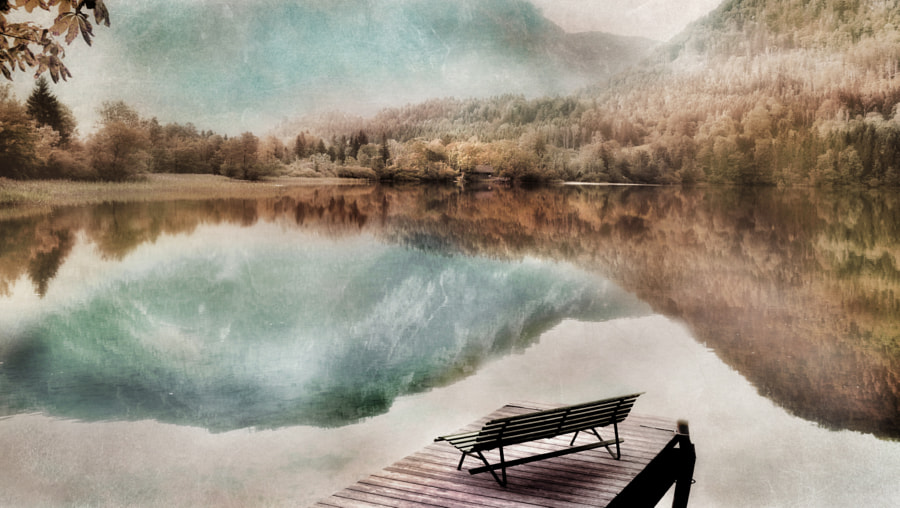 take a seat and be with yourself-- by Irene Weiss