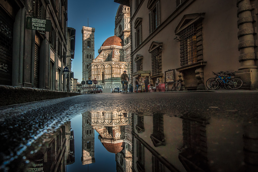 A morning scenery in Florence by Takeshi Ishizaki on 500px.com