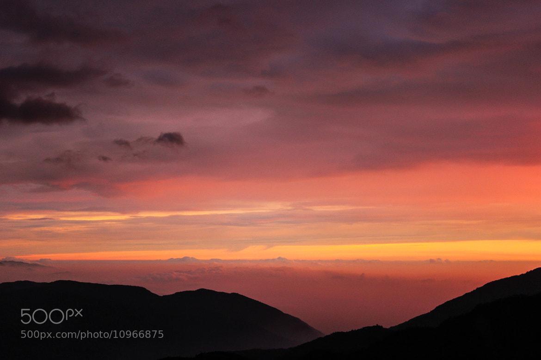 Photograph Sunset Central Taiwan by Boris Smokrovic on 500px