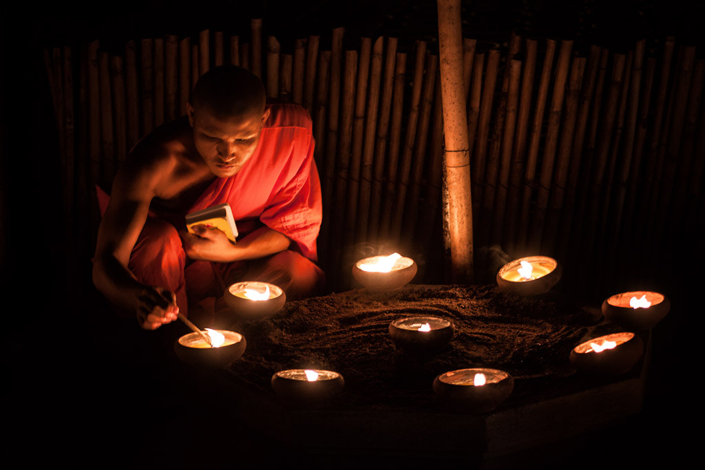 Photograph Candle Meditation by Daniel Nahabedian on 500px