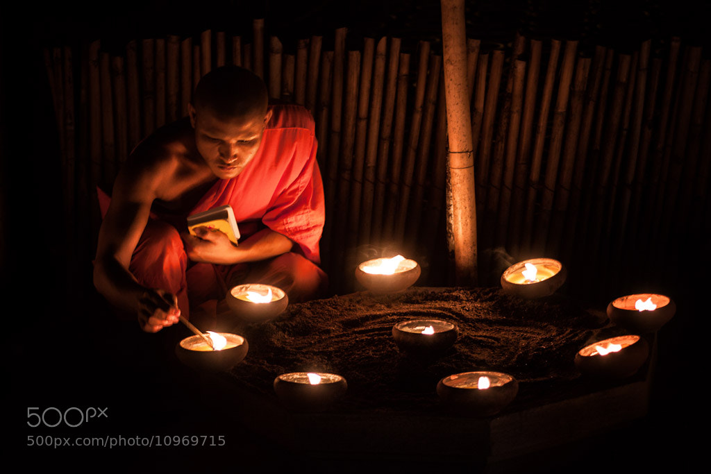 Candle Meditation by Daniel Nahabedian on 500px.com