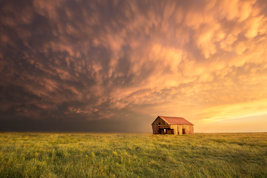 Barn Sunset by Chris Martin on 500px.com