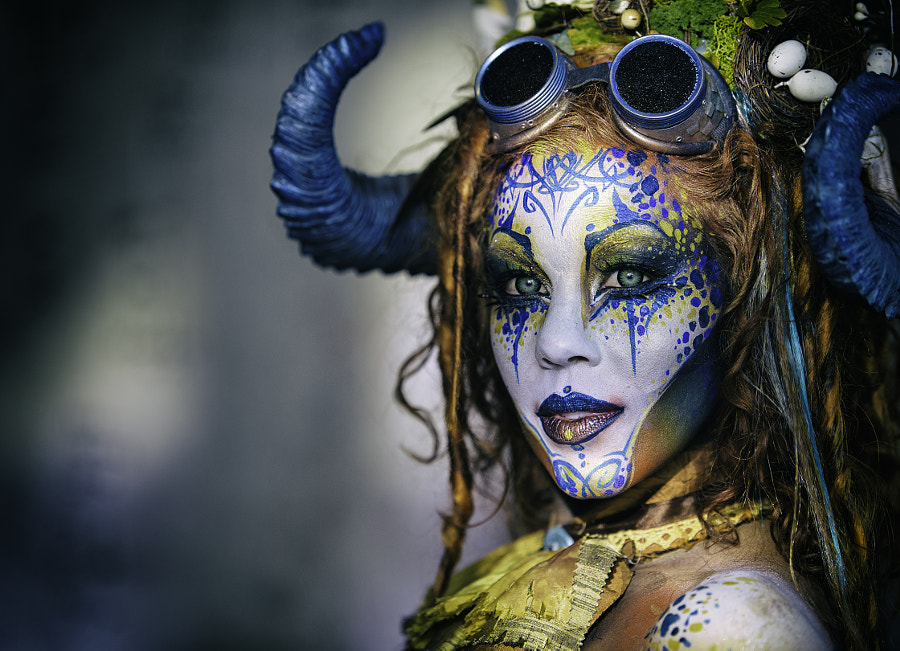 Photograph Body Painting Portrait 2 by cameraface on 500px
