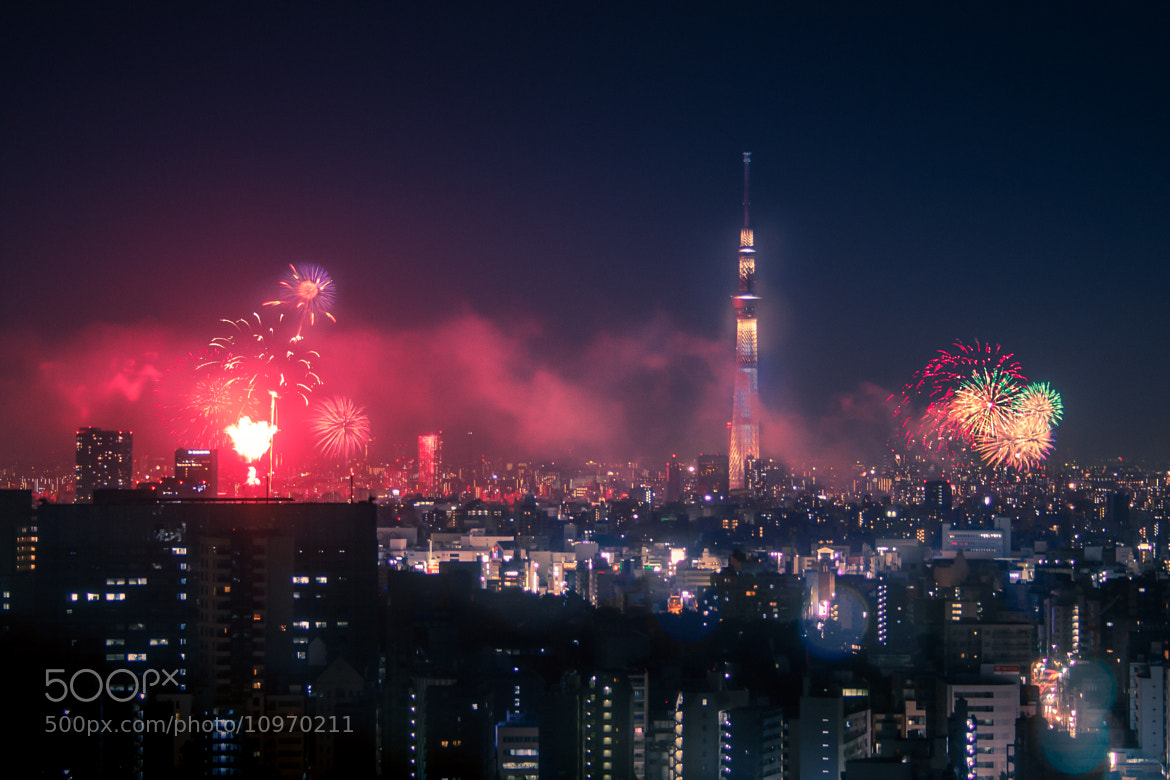 Photograph Sumida River Fireworks Festival 2012 by Holger Feroudj on 500px