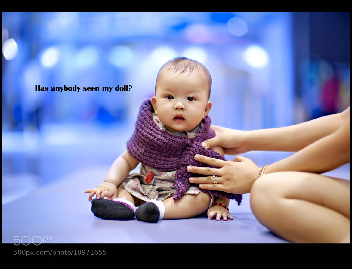 Photograph My Bokeh Baby by Fidel Barro II on 500px