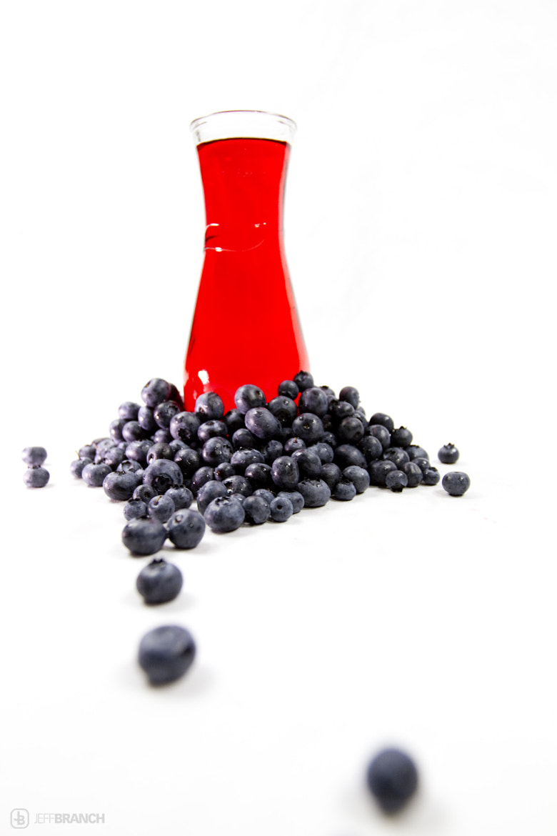 Photograph Exotic Blueberries & Juice by Jeff Branch on 500px
