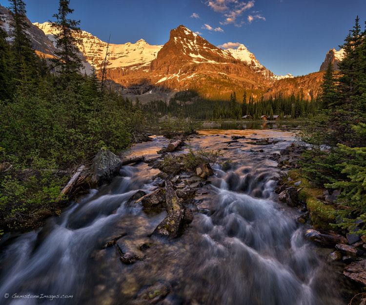 Photograph Outlet stream by Scott Dimond on 500px