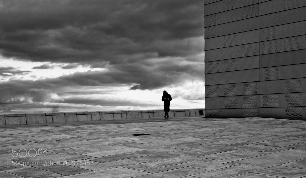 Photograph Solitary figure by Lapin Dmitry on 500px