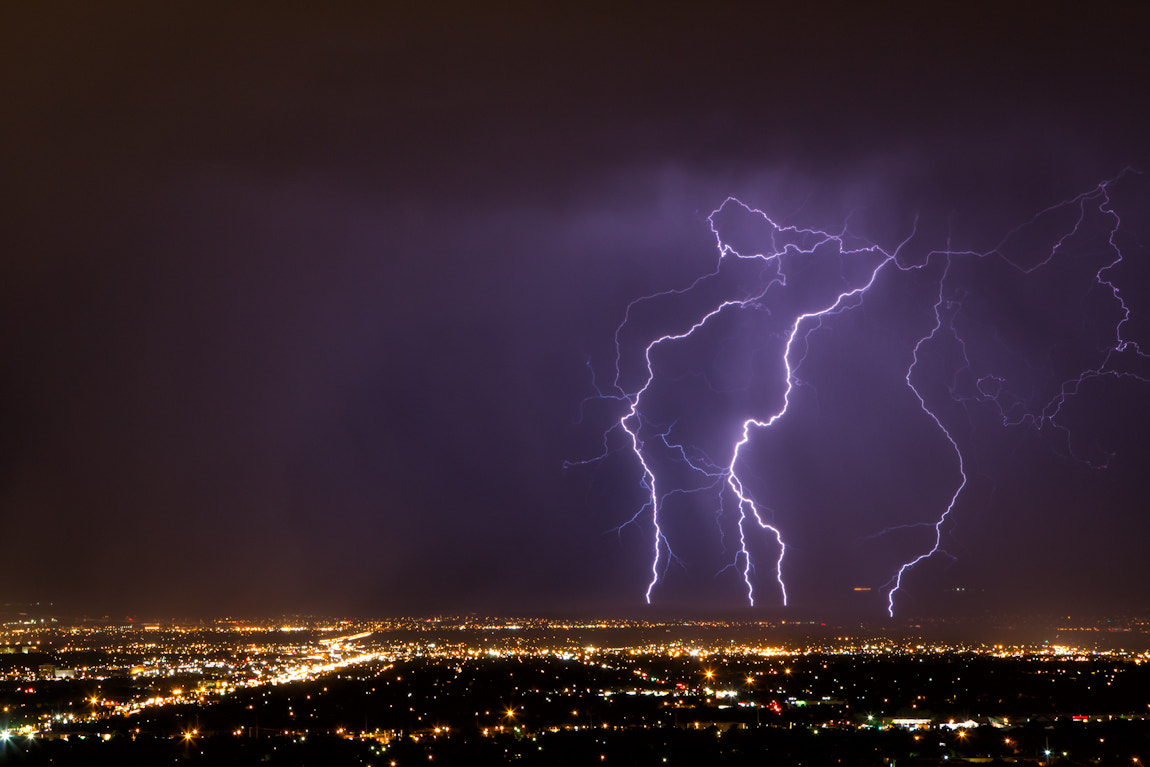 Photograph Lightning by Ryan Painter on 500px