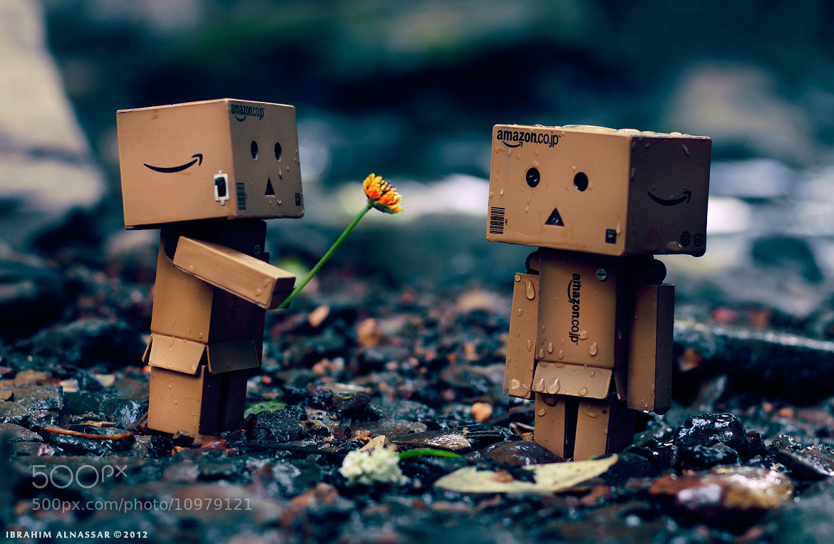 Photograph Danbo in love by Ibrahim  Alnassar on 500px