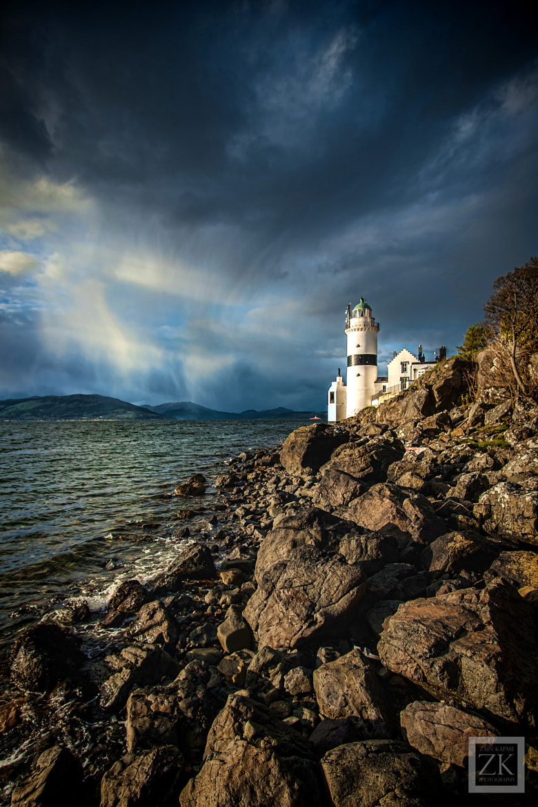 Photograph The Cloch Lighthouse by Zain Kapasi on 500px