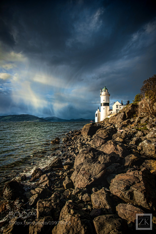 Photograph The Cloch Lighthouse by Zain Kapasi on 500px