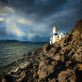 The Cloch Lighthouse by Zain Kapasi (zainkapasi)) on 500px.com