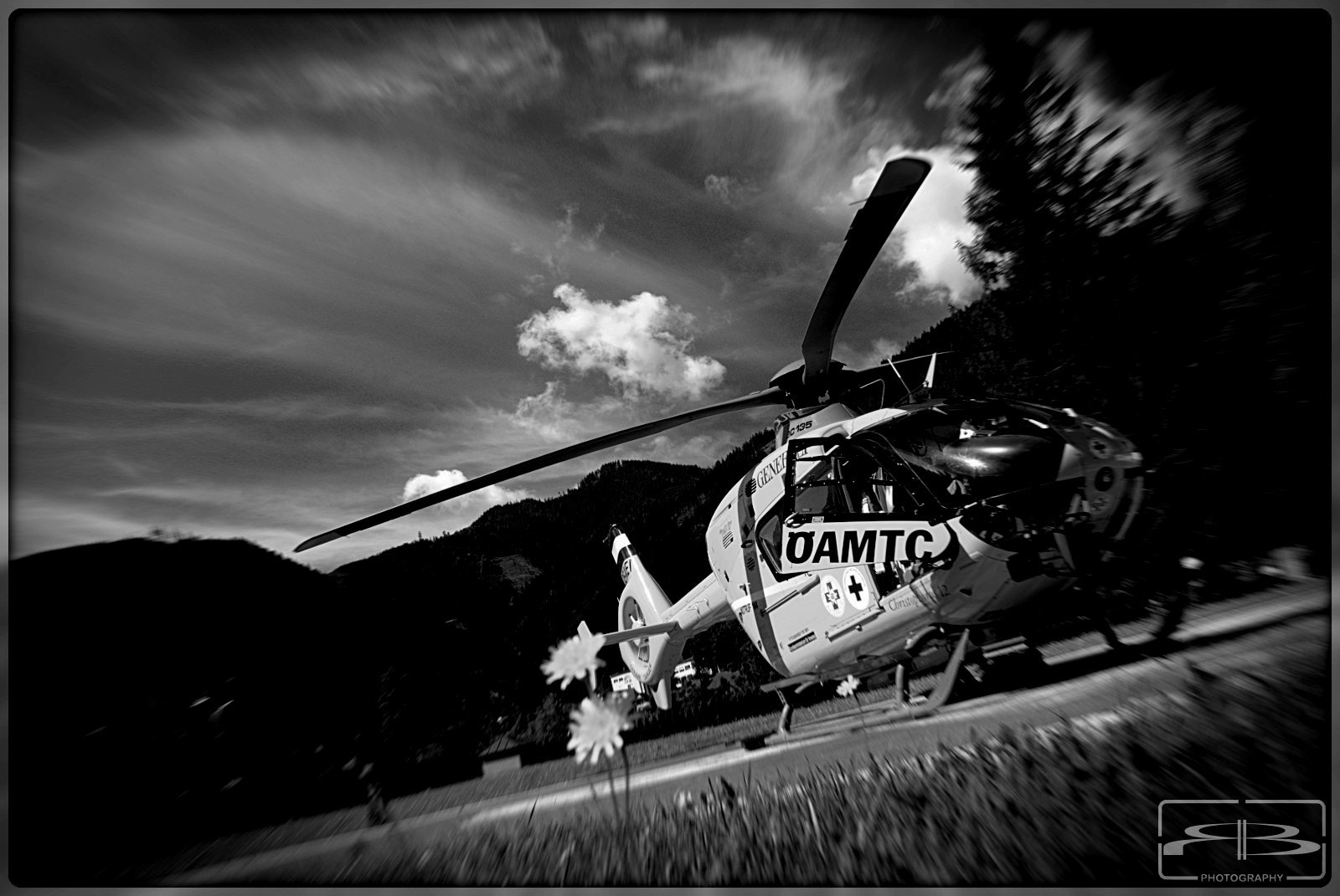 Photograph Rescue Heli by Rene BERNHARD on 500px