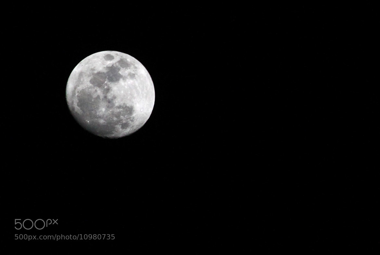 Photograph Moon by Nitzan Donovich on 500px