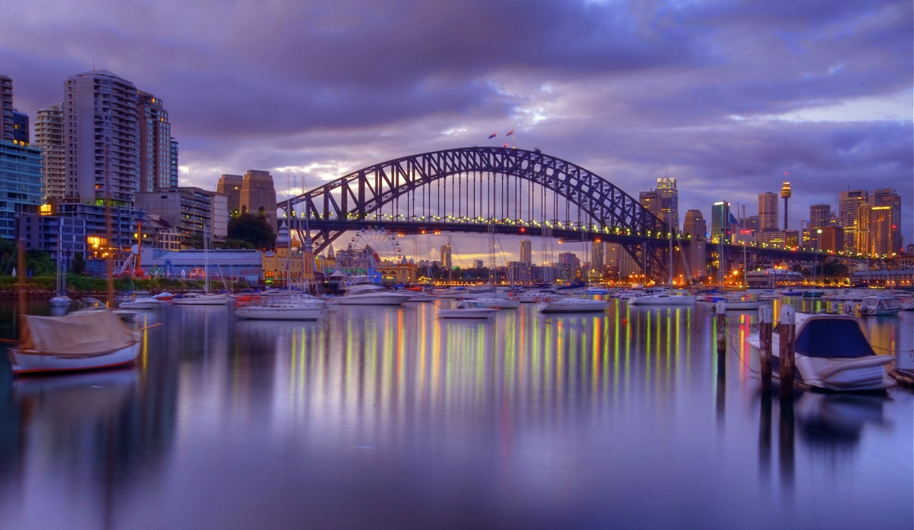 Photograph Lavender bay view by donald Goldney on 500px