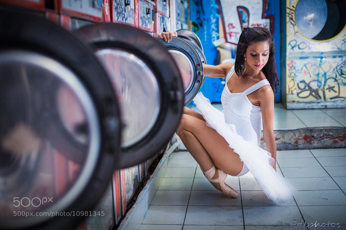 Photograph Ballerina in the laundry #1 by Francesco De Laurentiis on 500px