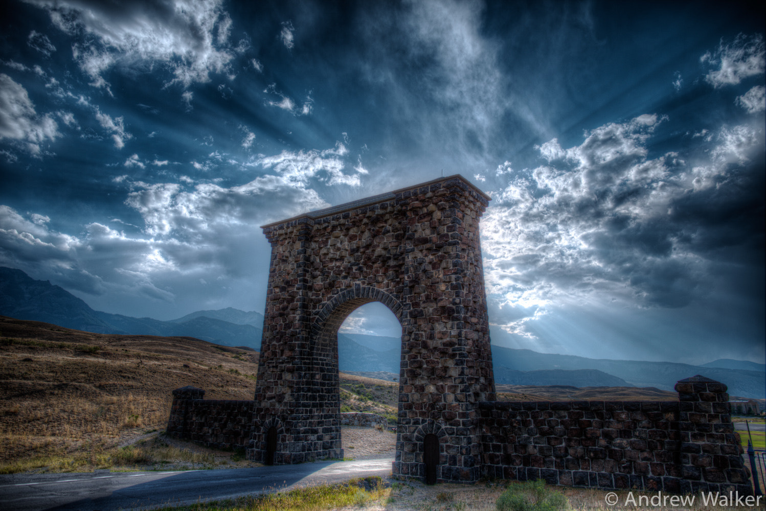Photograph Yellowstone Arch HDR by Andrew Walker on 500px
