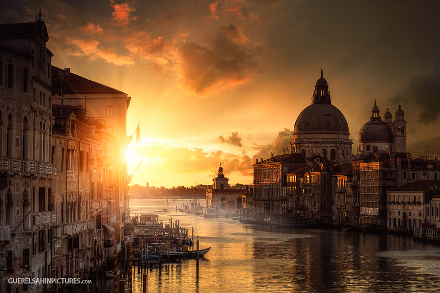 Photograph City of Gold by guerel sahin on 500px
