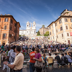 Piazza di Spagna by Peter Jot (piotr)) on 500px.com