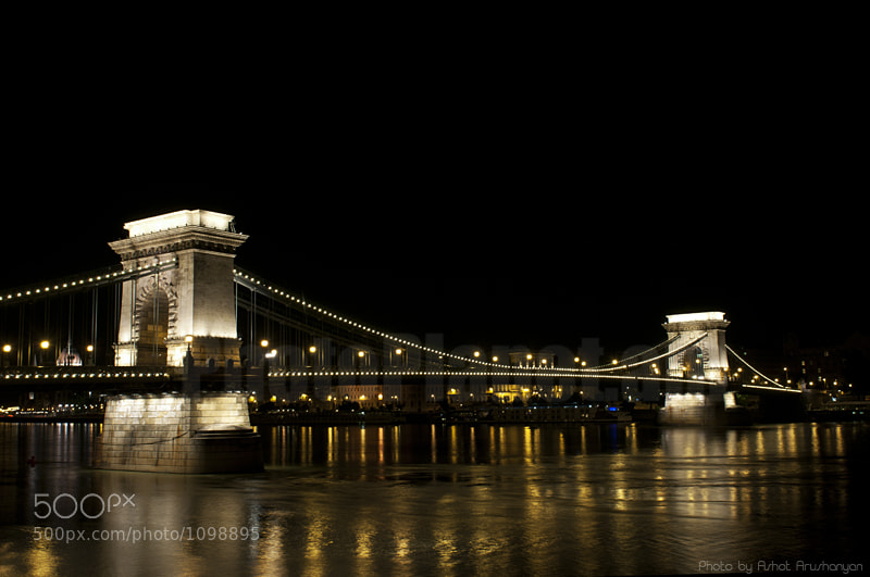 Photograph Chain Bridge, Budapest by Ashot  Arushanyan on 500px