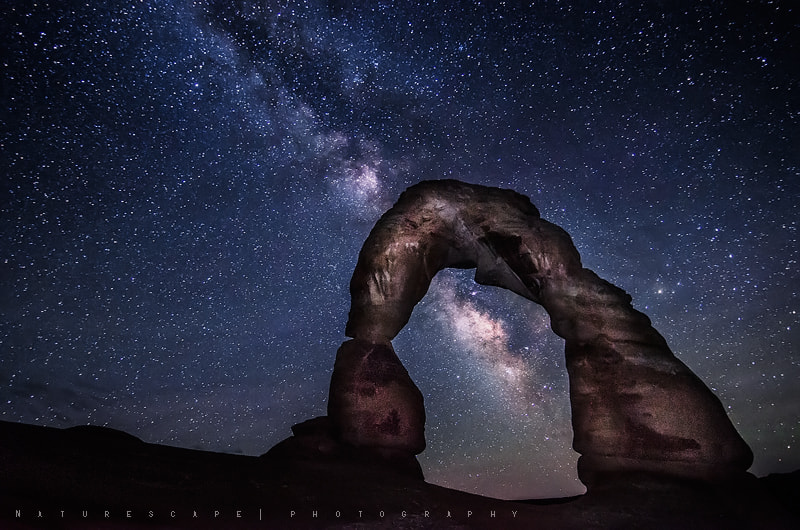 Photograph Midnight around Moab by Nagesh Mahadev on 500px