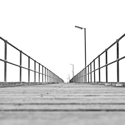 Endless Jetty (black & white)