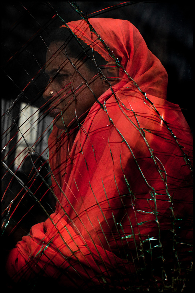 Photograph The Woman on the Bus - Dhaka, Bangladesh by Zoriah Miller on 500px