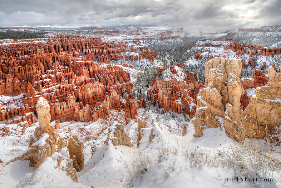 Photograph Bryce in Snow by VISIO photography on 500px