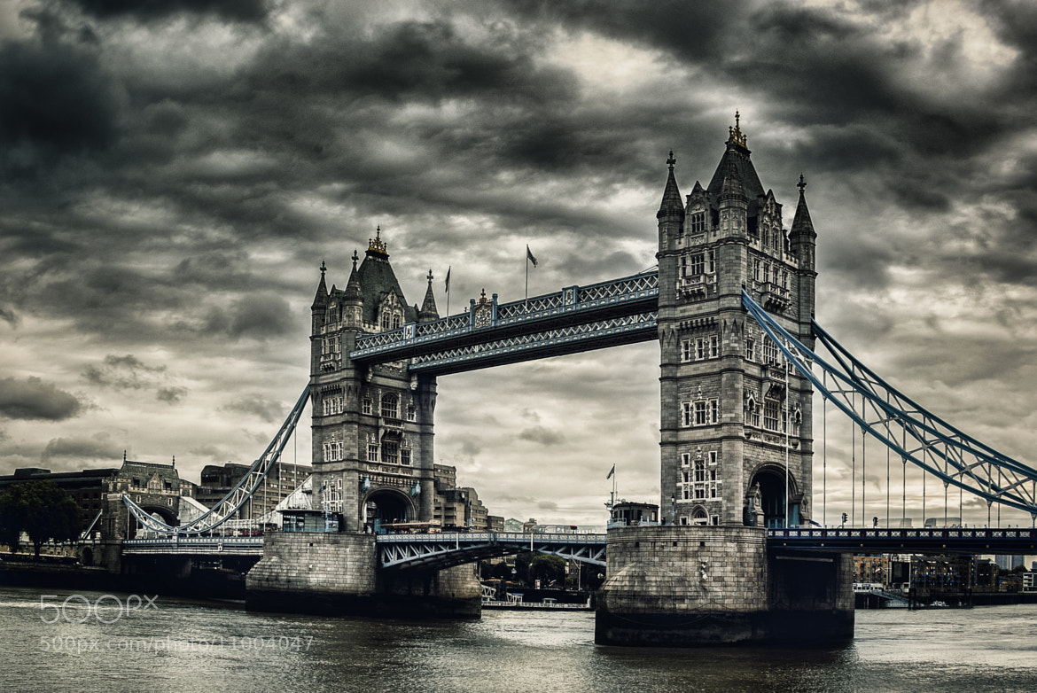Photograph Tower Bridge by Dominik B. on 500px