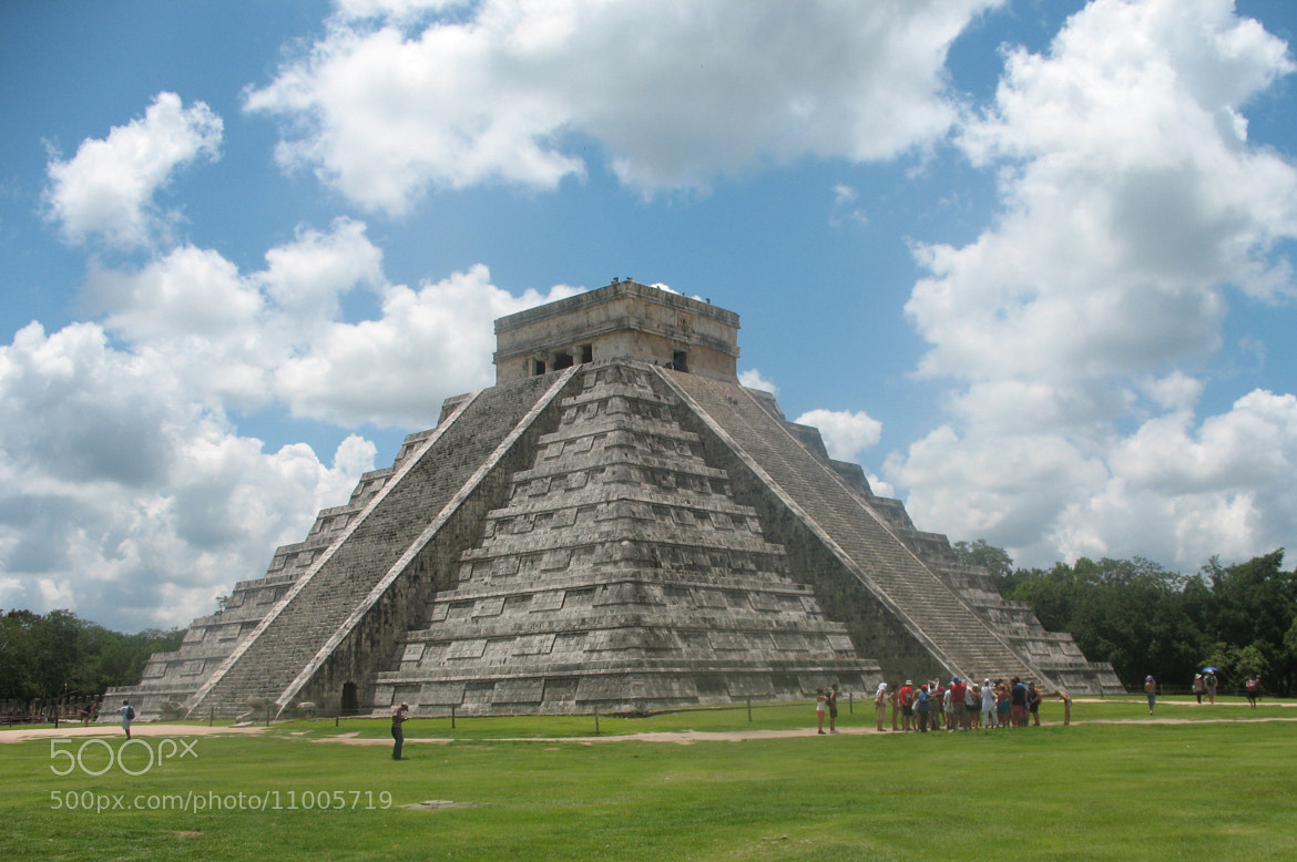 Photograph Chichen Itza by Jean-Claude Guilbaud on 500px
