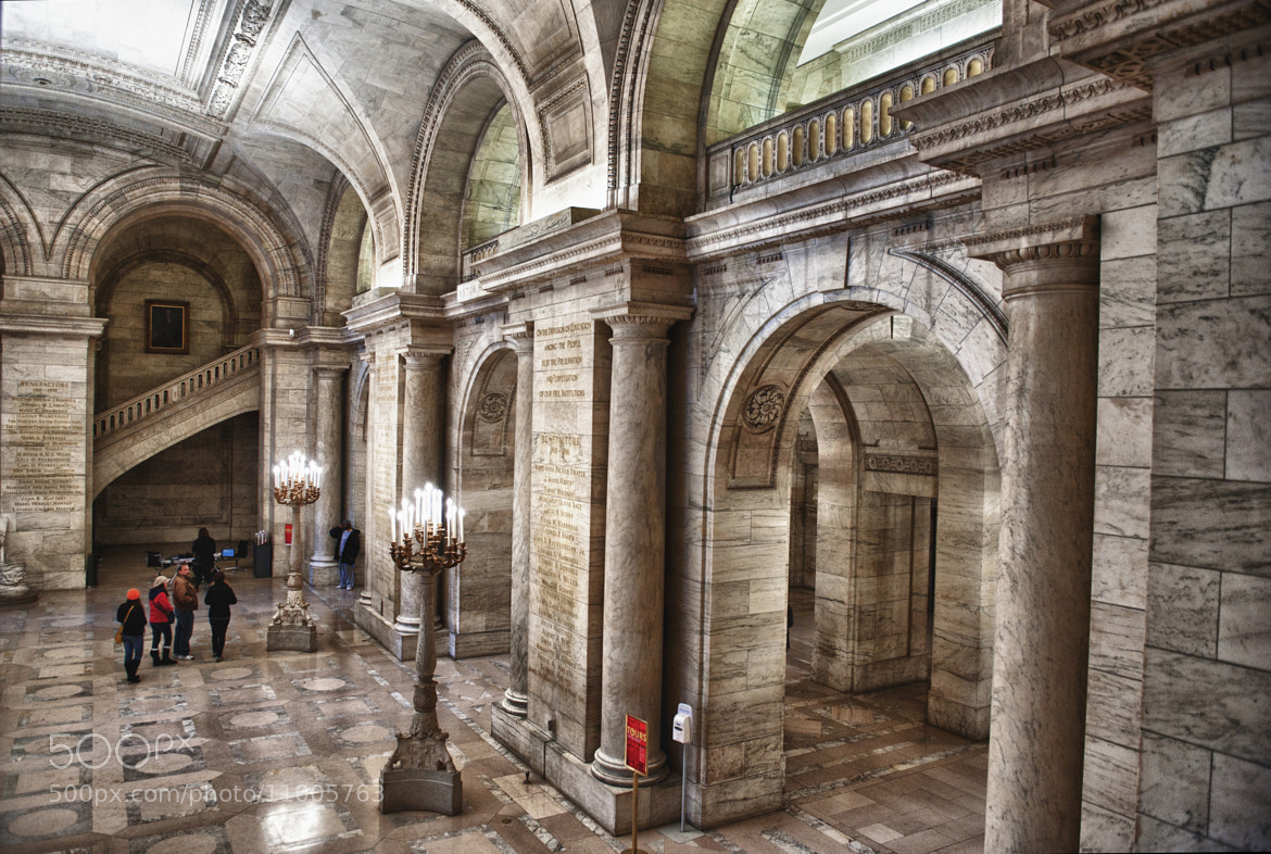 Photograph New York Public Library by Madi Photography on 500px