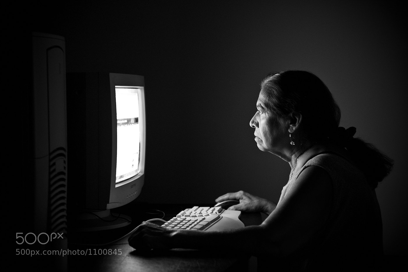 Photograph Her First Computer by RC Concepcion on 500px
