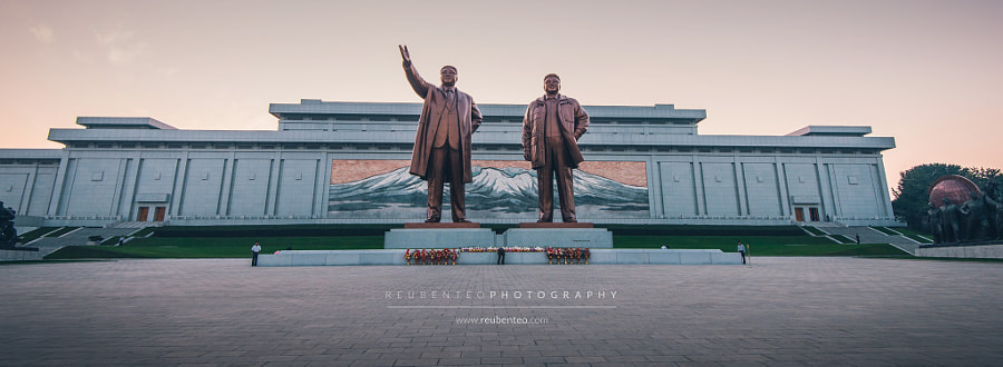 Photograph The Mansudae Grand Monument by Reuben Teo on 500px