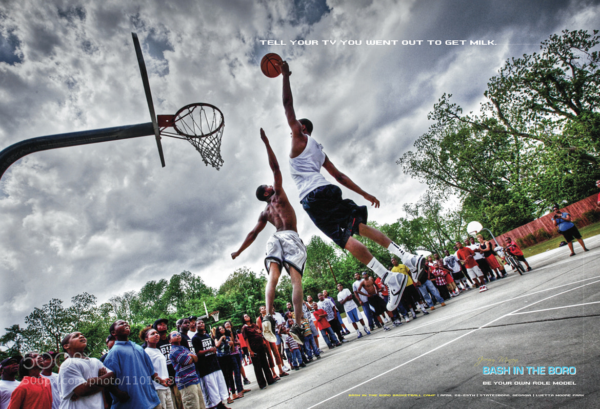 Photograph Basketball ad 2 by Jessie Edwards on 500px