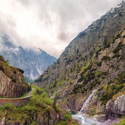 Way through the valley