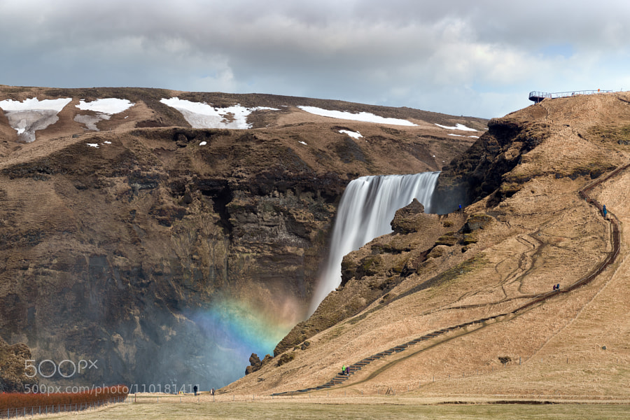 Heaven's Stair begins at Skógafoss