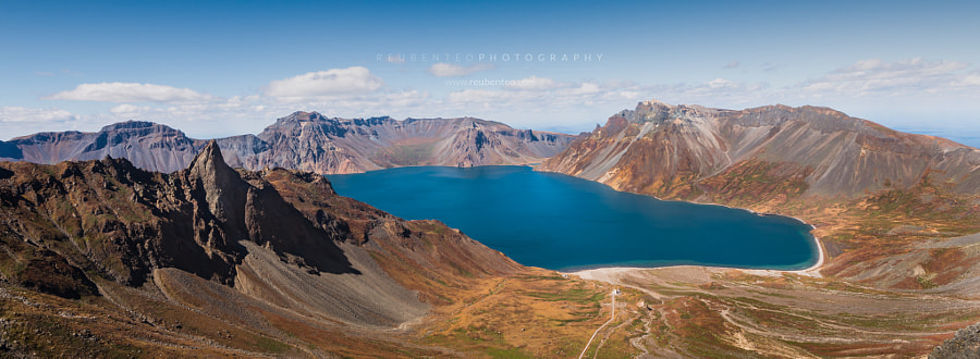 Photograph Heaven Lake of Mount Paektu by Reuben Teo on 500px