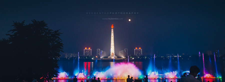 Photograph Mid-Autumn Festival at the Juche Tower by Reuben Teo on 500px